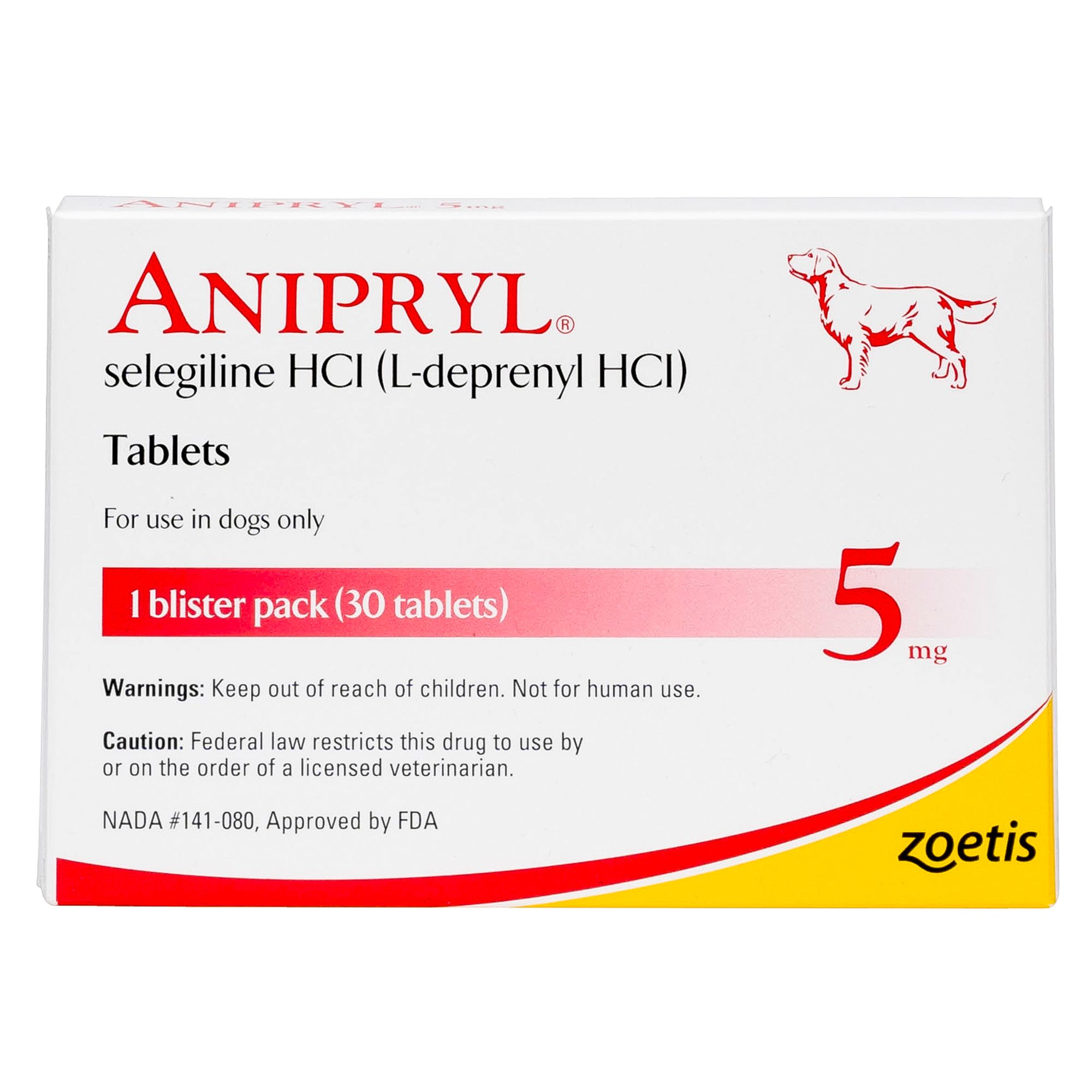 Anipryl Tablet Size 5 Mg