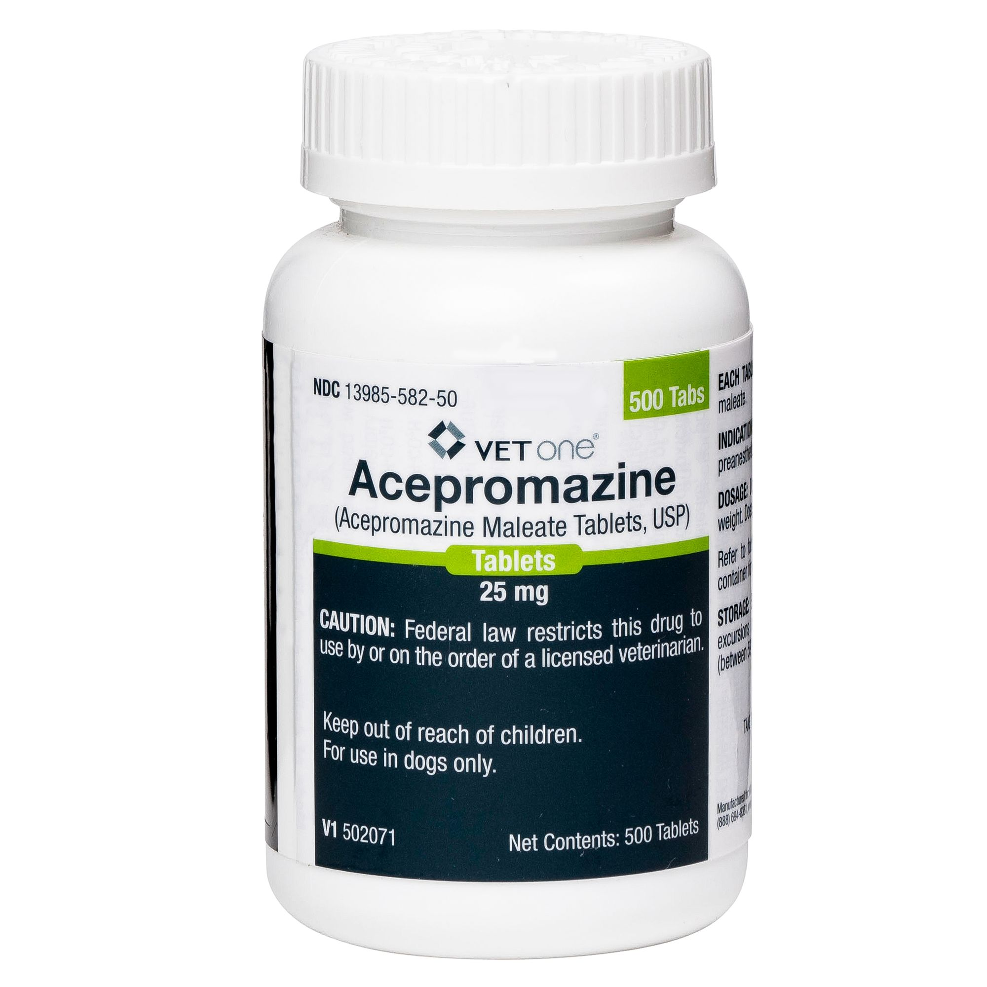 Acepromazine Tablet Size 25 Mg