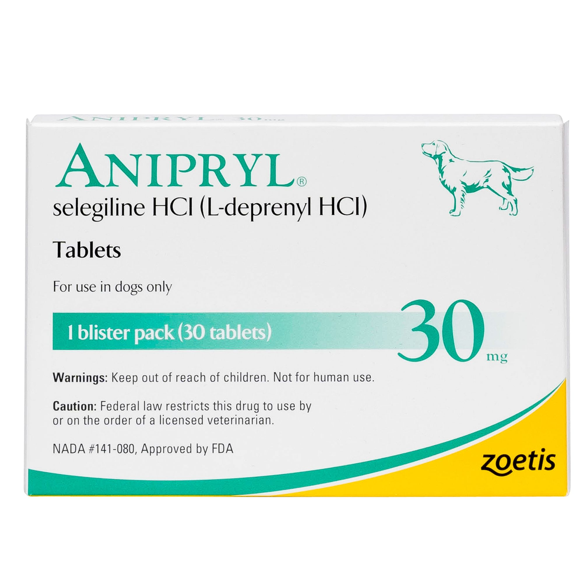 Anipryl Tablet Size 30 Mg