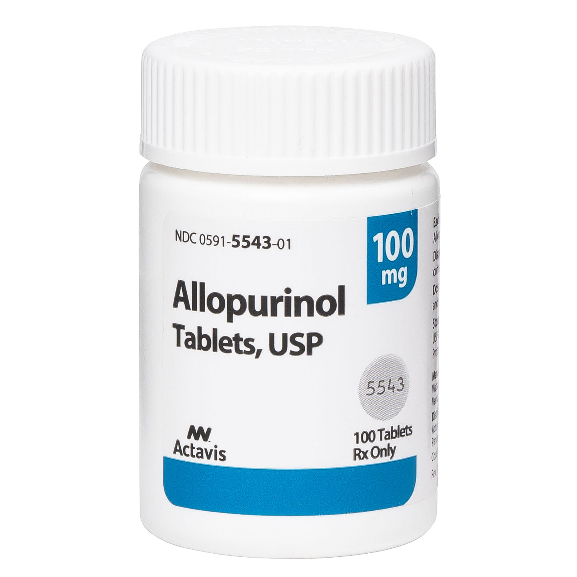 Allopurinol Tablet Size 100 Mg