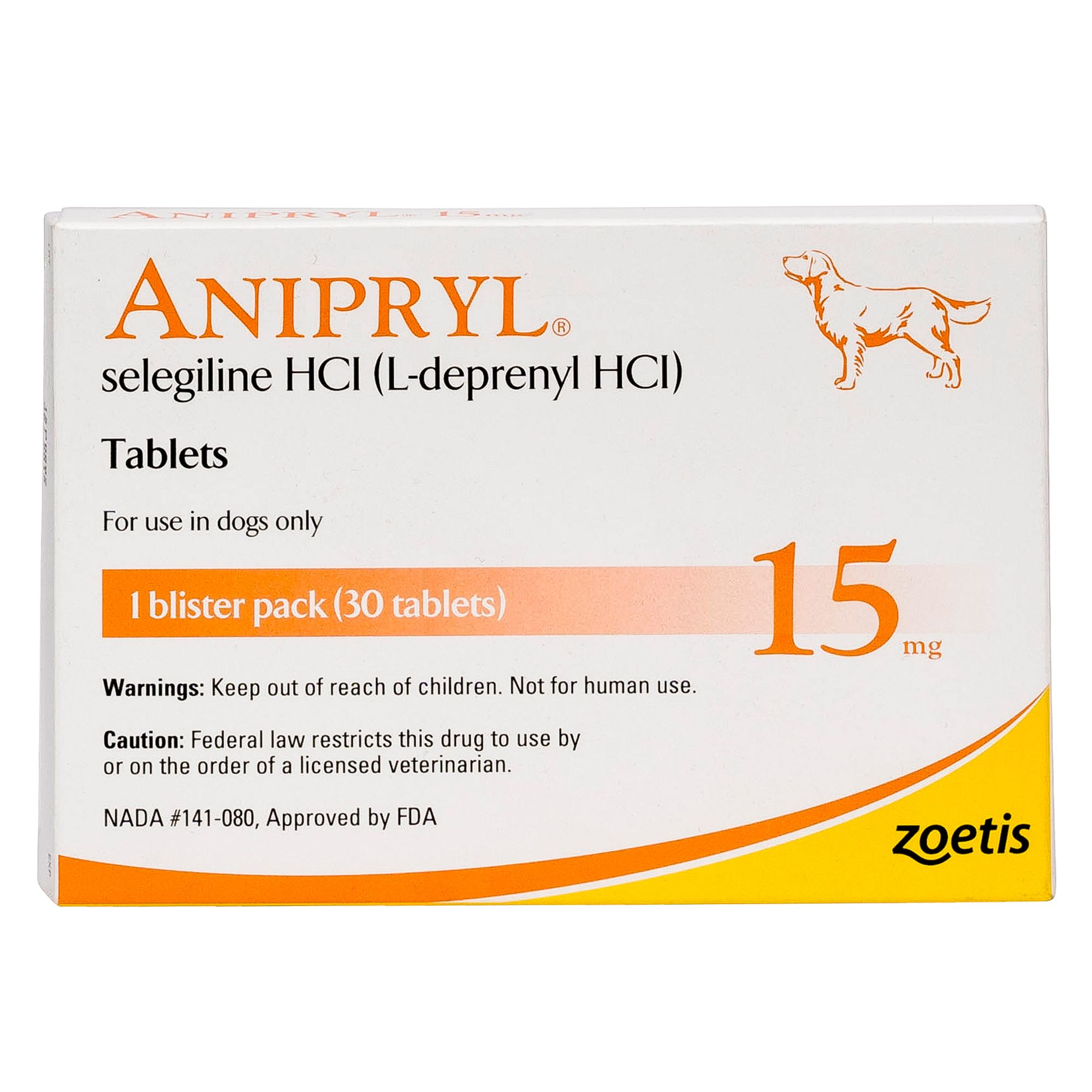 Anipryl Tablet Size 15 Mg