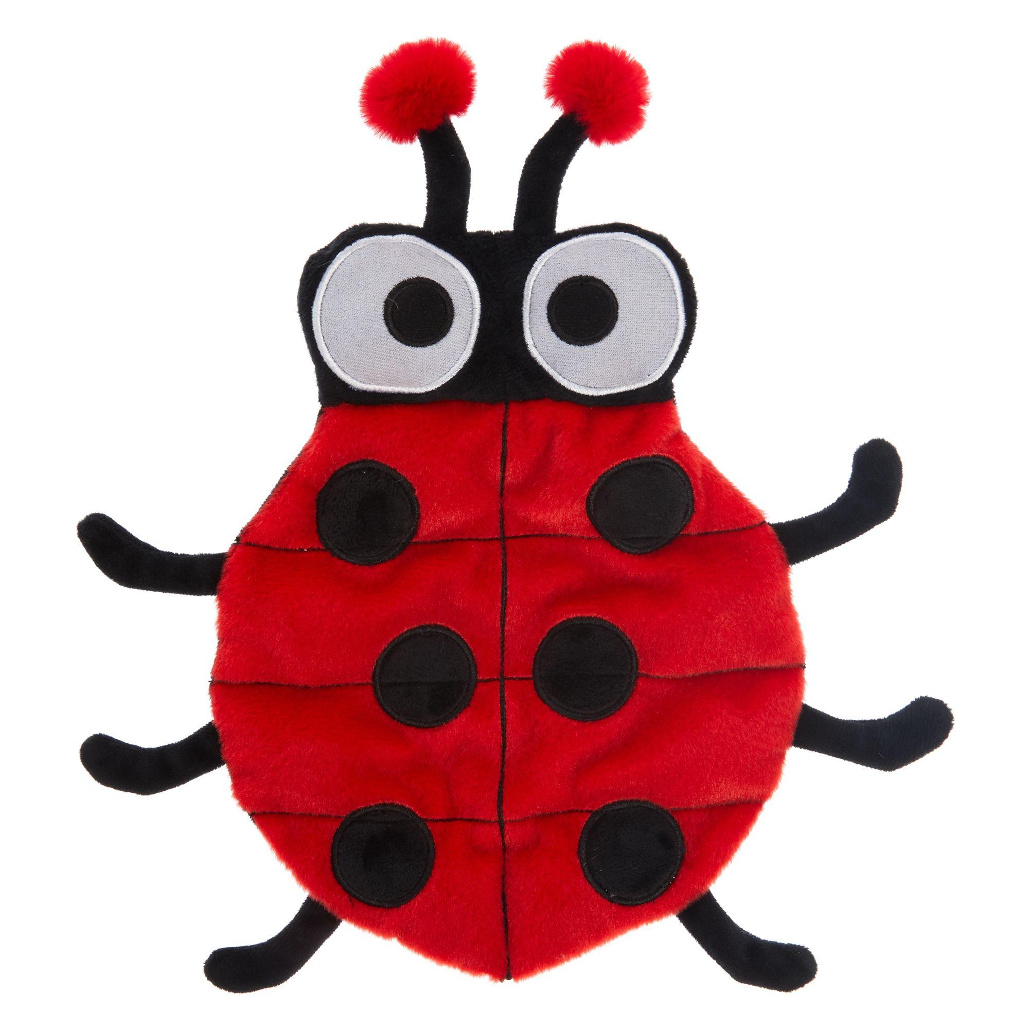Top Paw Ladybug Squeaker Mat Dog Toy - Plush, Squeaker 5275636