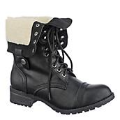 Women's Fold-Down Combat Boot Oralee-S