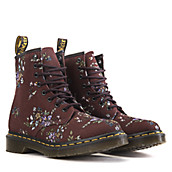 Women's Castel Floral Combat Boot