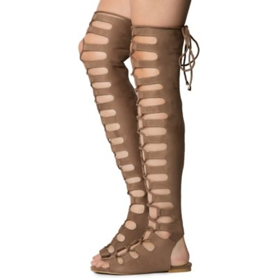 Women's Jovena-1 Gladiator Lace-Up Sandal