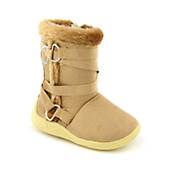 Kids Suede Zip Boot (7-13)