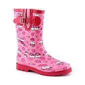 Kids Baby Owl Rain Boot