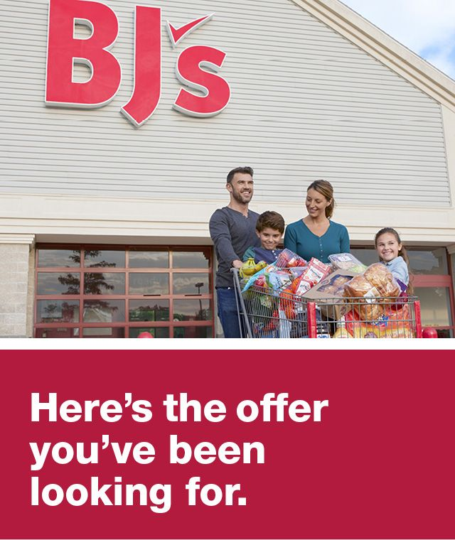 Becoming a BJ's Member is the biggest deal of all
