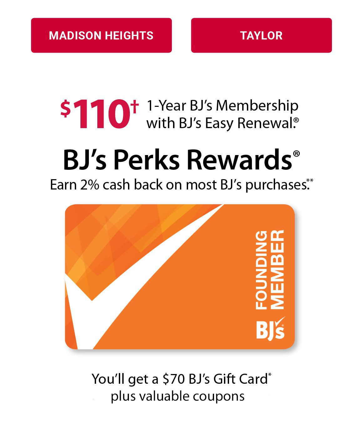 photo regarding Bjs Printable Coupons titled - BJs Wholesale Club