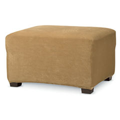 SURE FIT® Stretch Piqué 1-pc. Ottoman Slipcover