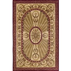 Momeni® Elizabeth Hand-Carved Wool Rectangular Rug