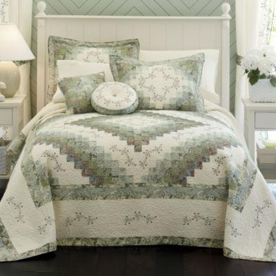 home expressions cassandra pieced bedspread