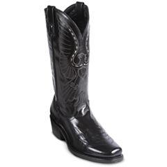 Laredo® Mens Stitched Eagle Cowboy Boots