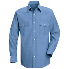 Red Kap® Deluxe Western-Style Shirt–Big & Tall