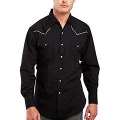 Ely Cattleman® Piped-Yoke Snap Shirt