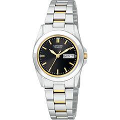 Citizen® Womens Two-Tone Watch EQ0564-59E