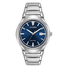 Citizen Mens Silver Tone Bracelet Watch-Aw1550-50l
