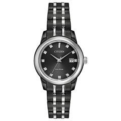 Citizen Womens Black Bracelet Watch-Ew2398-58e
