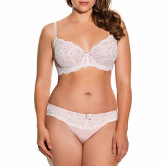 Dorina Phoebe Lace Unlined Underwire Bra and Brief Panty