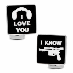 Star Wars™ I Love You I Know Icon Cuff Links