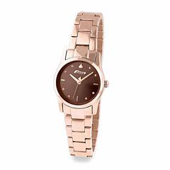 Hershey Kisses Womens Gold Tone Bracelet Watch-Ks022rg