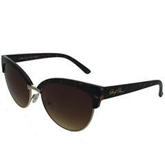 Marilyn Monroe Half Frame Cat Eye UV Protection Sunglasses-Womens