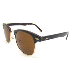 Fantas Eyes Half Frame Round UV Protection Sunglasses