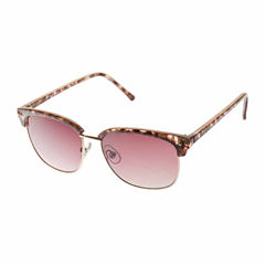 Bisou Bisou Half Frame Round UV Protection Sunglasses
