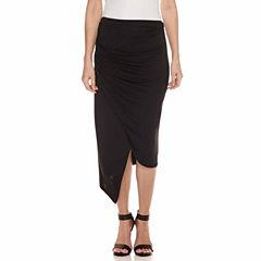 a.n.a Knit Wrap Skirt Talls
