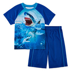 Jelli Fish Kids 2-pc. Shark Pajama Set Boys