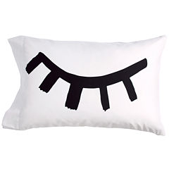 Scribble Wink Lips Pillowcases