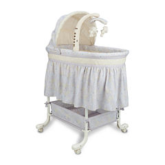 Delta Children's Products™ Deluxe Gliding Bassinet - Paisley Park