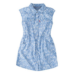 Levi's Short Sleeve Sundress - Preschool Girls