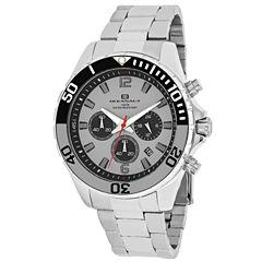 Oceanaut Mens Silver Tone Bracelet Watch-Oc2523