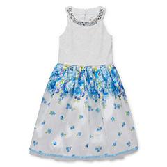 Speechless Sleeveless Fit & Flare Dress - Girls' 7-16