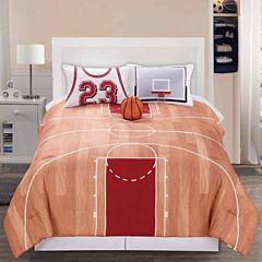 Riverbrook Home B-Ball 3-pc. Midweight Reversible Comforter Set