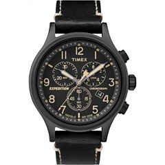 Timex Expedition Scout Mens Black Strap Watch-Tw4b091009j