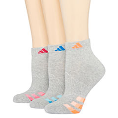 adidas® 3-pk Cushion Low-Cut Socks