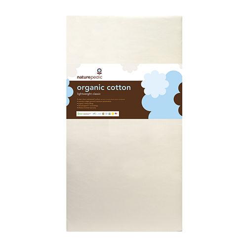 Naturepedic® Organic Cotton Lightweight Classic Seamless Crib Mattress