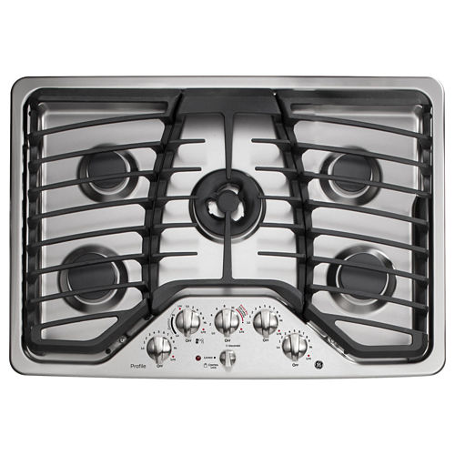 GE Profile™ 30 Built-In Gas Cooktop With 5 Burners