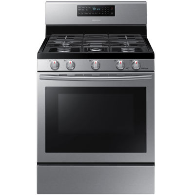 samsung 58 cu ft gas range with convection