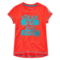 Reebok Graphic T-Shirt-Preschool Girls