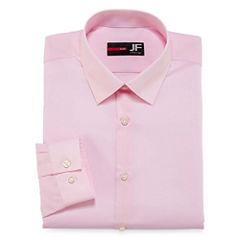 J.Ferrar Easy-Care Solid Big & Tall Long Sleeve Dress Shirt
