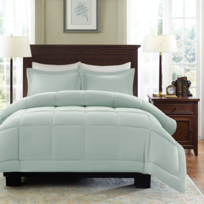 madison park linstrom microcell comforter set
