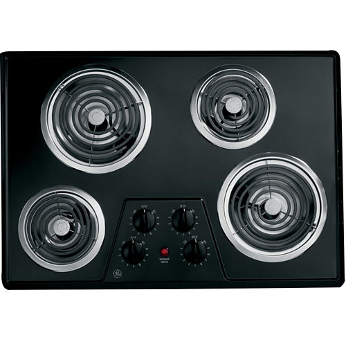 GE® 30 Built-In Electric Cooktop With 4 Burners