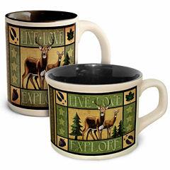 American Expedition Lodge Coffee and Soup Mug Set