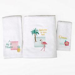Saturday Knight Flamingo Bath Towel Collection