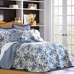 Toile Garden Bedspread & Accessories