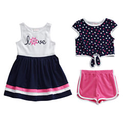 Young Land Short Set Toddler Girls