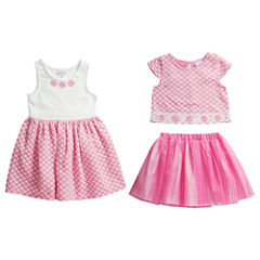 Young Land Girls Skirt Set and Dress